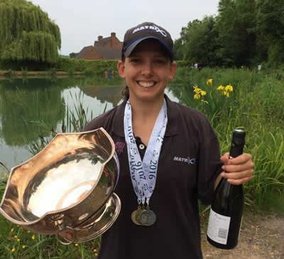 Kayleigh Smith wins the Ladies National Championship title