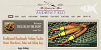 Website design for angling businesses