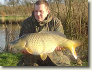 24lb Common - one of the many quality fish at Longreed Lakes