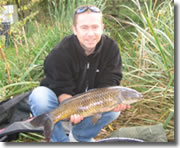 good condition common carp which weighed in at 9lb